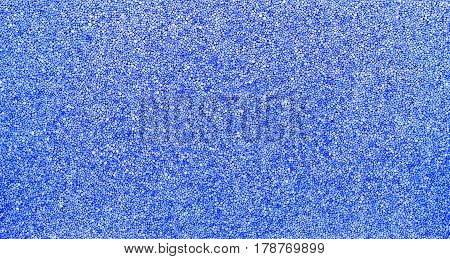 Blue abstract background polystyrene texture insulation material