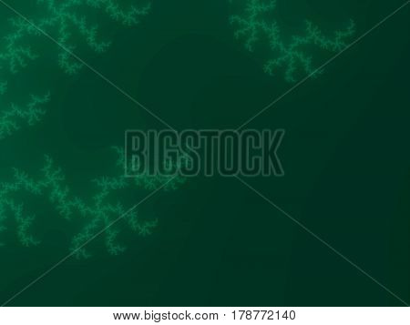 Spring Green Fractal Background