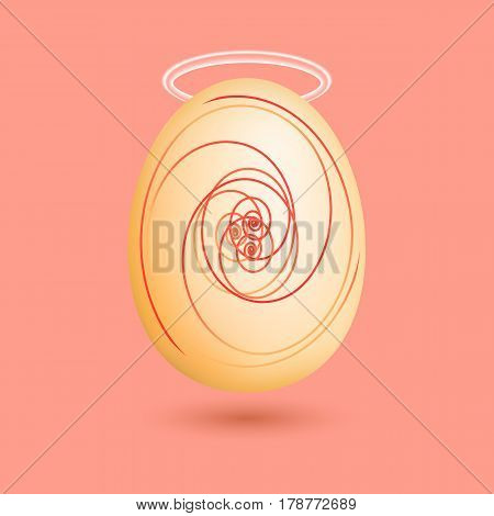 Illustration Of The Saint Egg