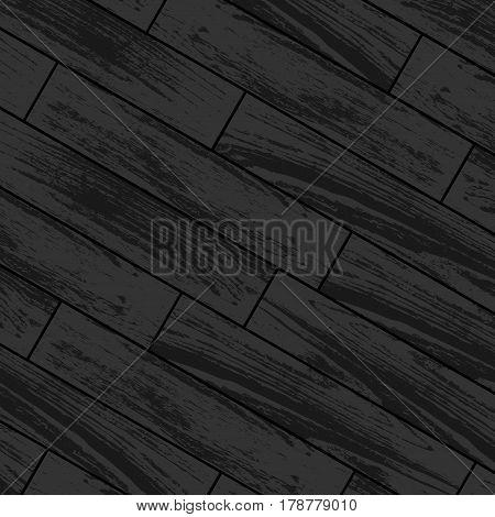 Dark gray wooden laminate and parquet background