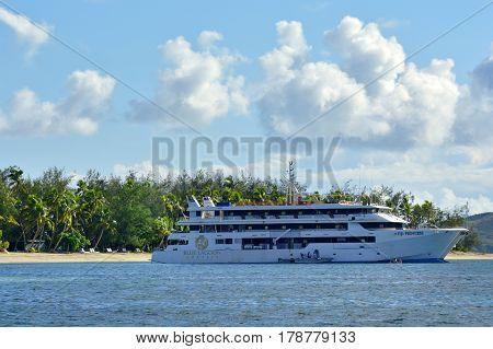 Blue Lagoon Cruises Ship Fiji