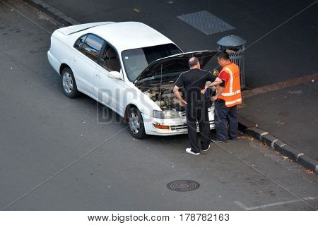 Car Breakdown Service Roadside Rescue