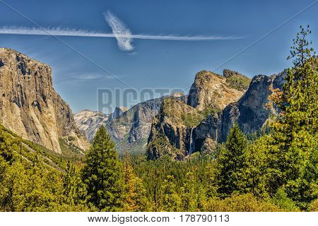 Half Dome Yosemite National Park western Sierra Nevada mountains of Northern California