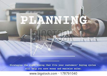 Business Planning Management Analysis Concept