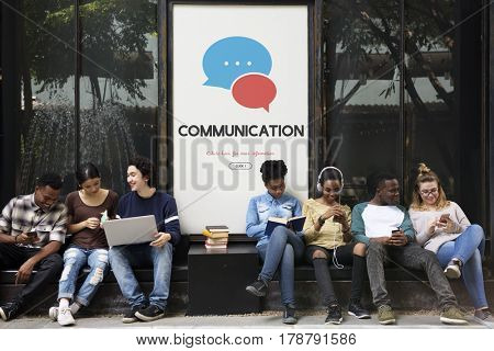 Communication Speech Bubble Social Networking Exchange