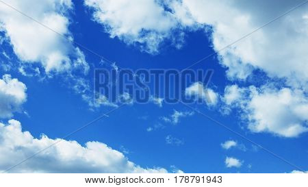 Partly Cloudy Weather Sky
