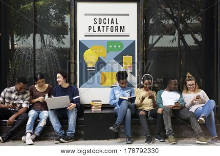 Internet networking digital life social media platform