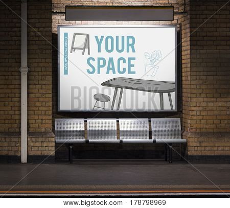 Living Interior Style Decor Space Office