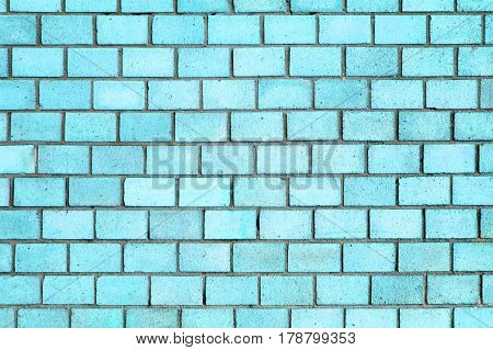 Blue Brick Wall Texture, Color Background Stone