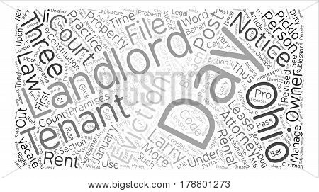 Landlord s Corner Evictions and Unauthorized Practice of Law text background word cloud concept