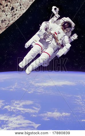 Astronauta flotante