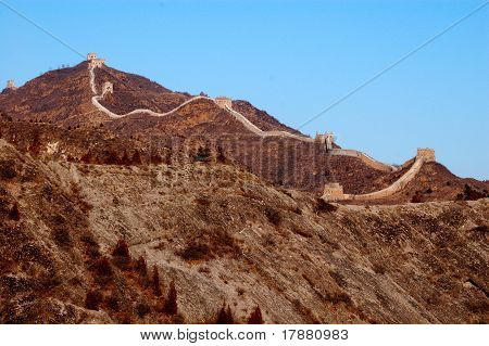 Great Wall of China - landscape