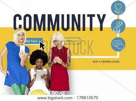 Donation Charity Relief Support Assistance Help Community