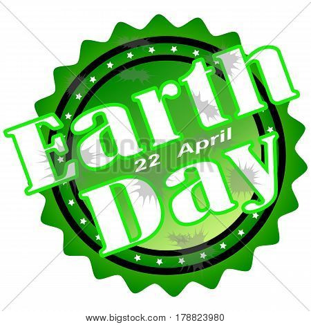 Day earth green illustration isolated sign symbol vector world card.