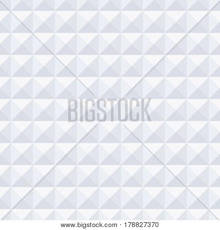 Background White Seamless geometric Texture. Illustration