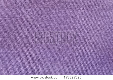 Fabric Texture Close Up of Purple Canvas Fabric Pattern Background.