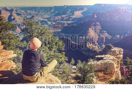Hike in Grand Canyon National Park