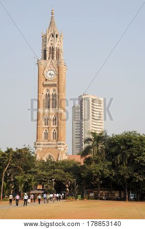Rajabai Tower - Historic Clock Tower, Bombay, India