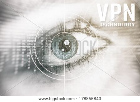 Vpn Technology Concept