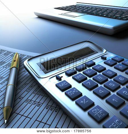 Calculator computer and report