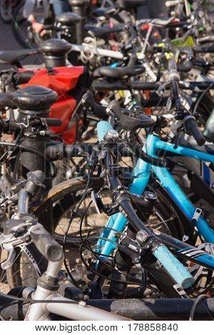 Bike Rack And Sign