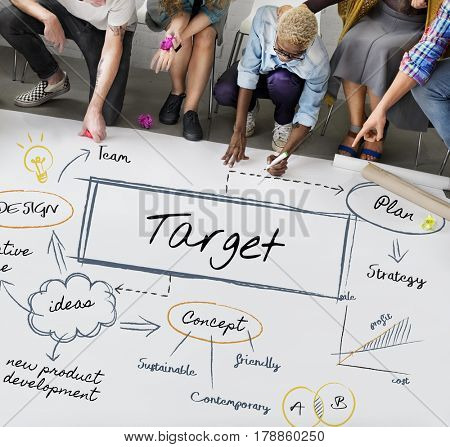 Aim Target Goal Management Strategy