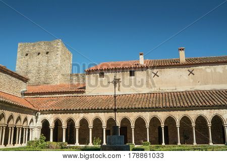 Saint Mary Abbey in Arles sur Tech, south of France
