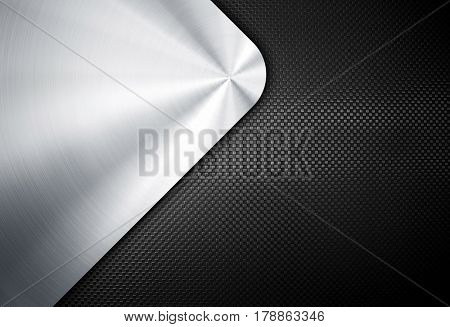 metal plate with curve pattern
