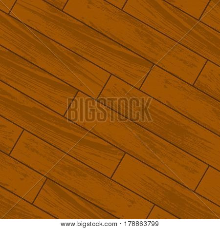 Orange wooden parquet and laminate background with pieces