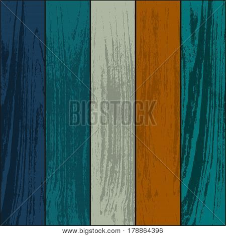 Set of five wooden laminate and parquet pieces different colors