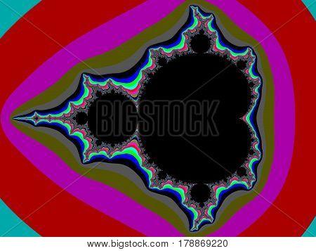 Colour Fractal Background