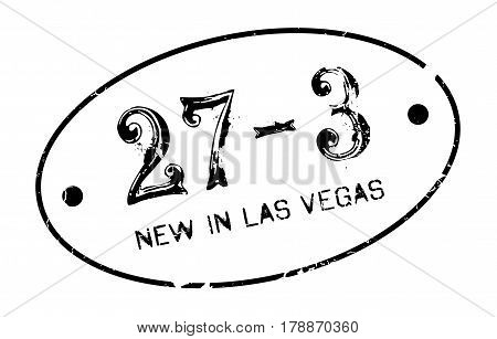 New In Las Vegas rubber stamp. Grunge design with dust scratches. Effects can be easily removed for a clean, crisp look. Color is easily changed.