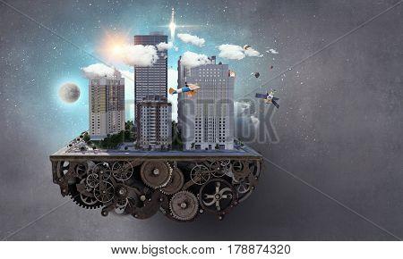 Mini city design