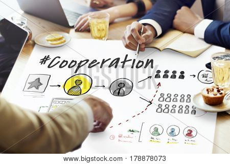 Cooperation Alliance Business Teamwork Success