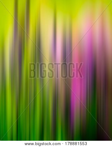 Abstract vertical lines and color spots green pink