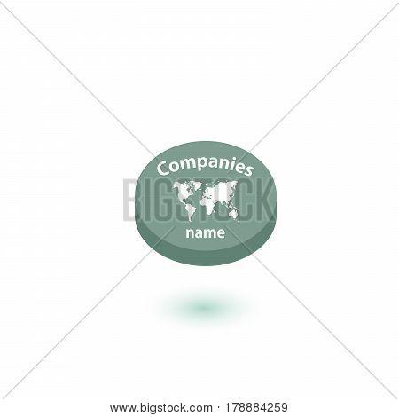 Logo travel agency Template Design Vector or Icon.Vector illustration.