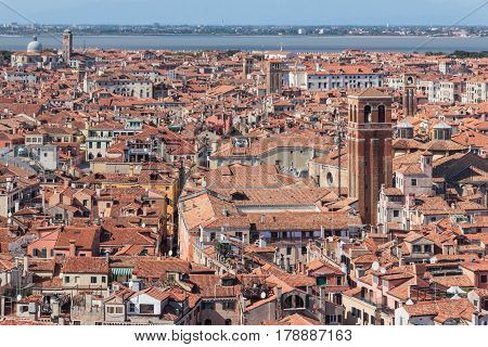 View From Campanile Di San Marco In Verona, Italy