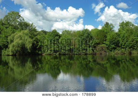 ein See-Szene