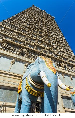 Gopuram Of Murudeshwar Temple