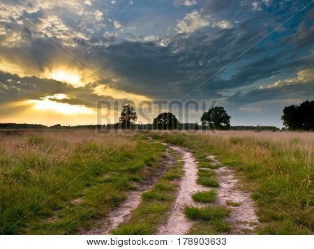 Heathland Trail Sunset