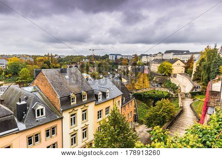 Luxembourg City, Luxembourg - October 22, 2016: Larochette In Of Luxembourg City