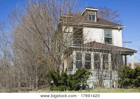 Abandoned House In Gary