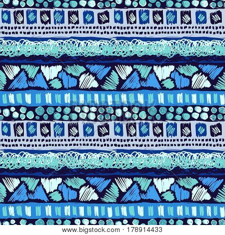 Sketch Pattern Doodle Tribal Scribble Ornament Colorful 4