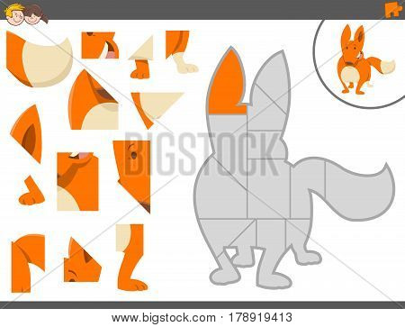 Jigsaw Puzzle Game With Fox