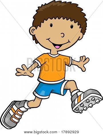 Kid Vector Illustration