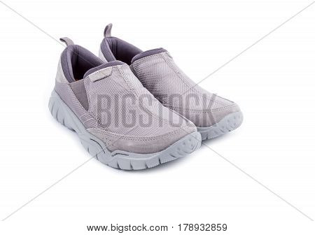 Men's Casual Summer Shoes Isolated on White