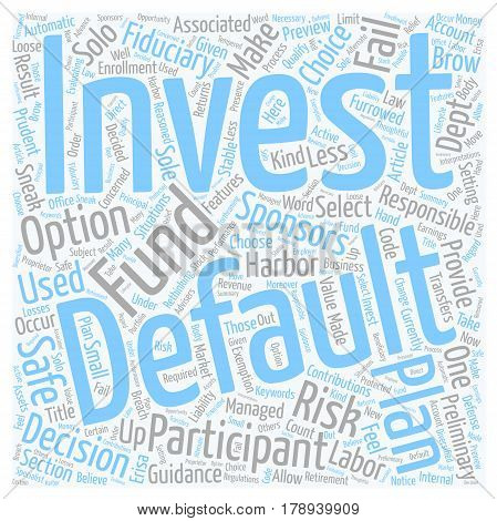 One Less Furrowed Brow For 401k Plan Sponsors text background wordcloud concept