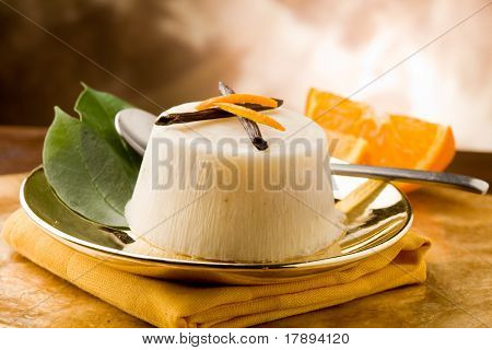 Vanilla Orange Pudding