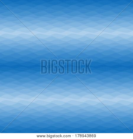 Seamless nautical ombre pattern. Gradual color waves. Graphic design element for web sites, stationary printables, fabric, scrapbooking etc. Vector illustration