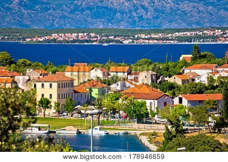 Sutomscica Village And Zadar Channel View
